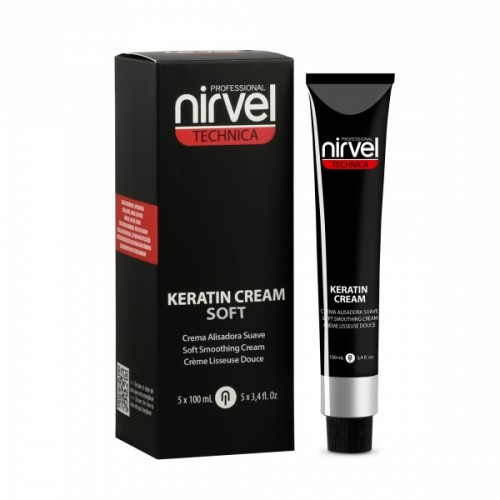 NIRVEL  KERATIN CREAM SOFT 5x100ml