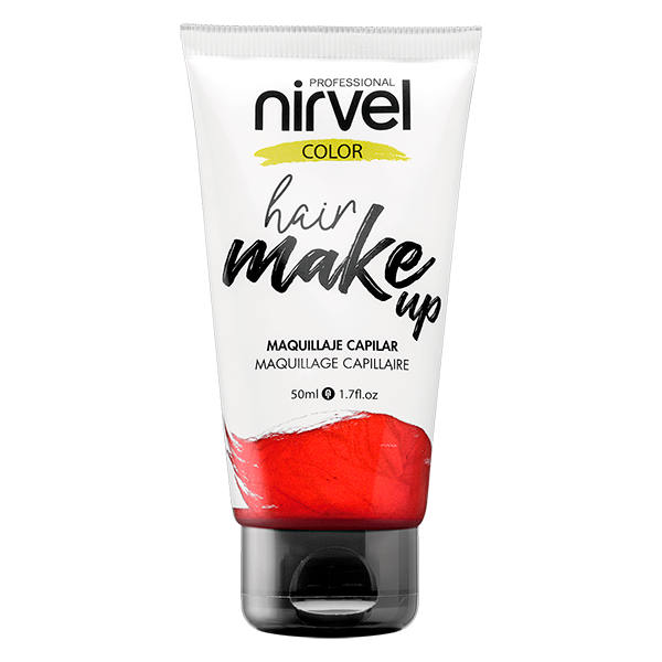 NIRVEL Hair make up Red