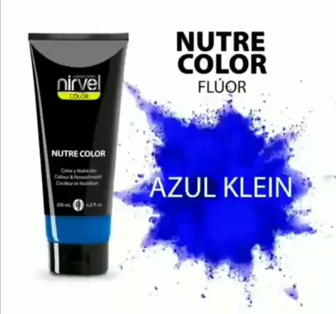 NIRVEL Nutre Color Klein Blue